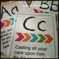 Printable ABC Bible