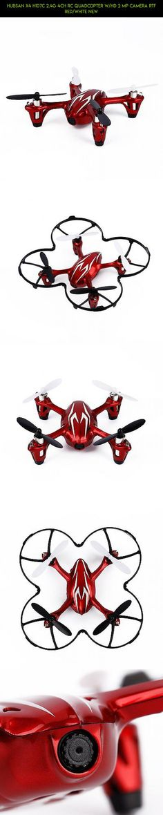 Hubsan X4 H107C 2.4G 4CH RC Quadcopter w/HD 2 MP Camera RTF RED/WHITE NEW #drone #gadgets #parts #plans #shopping #tech #camera #kit #racing #products #h107c #technology #hubsan #fpv #x4