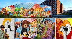 DECOY, Seasons in the City (Mural)