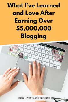 Celebrating 10 Years Of Blogging – What I've Learned and Love After Earning Over $5,000,000 Make Money Blogging, How To Make Money, Business Tips, 10 Years, How To Start A Blog, Periodic Table, Love, Learning, Celebrities