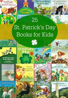 25 St. Patrick's Day books for Kids - Preschool & Early Elementary