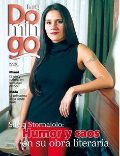 Silvia Stornaiolo, nuestra portada del 15 de abril de 2012