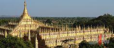 Thanboddhay Pagoda, Monywa, Myanmar. #myanmar