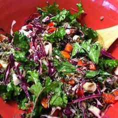 """Seattle's Favorite Kale Salad 