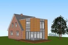 2-geschossiger Anbau an ein Einfamilienhaus | HARMS UND KÖSTER BAU GMBH
