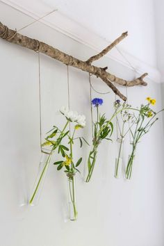 Bloemenvaasjes | flowers vase | vtwonen 02-2017 | Fotografie Henny van Belkom