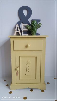 Mosterd geel Vintage Kastje Kinderkamer Cali, Flooring, Room, House, Furniture, Vintage, Home Decor, Bedroom, Decoration Home