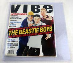 Vibe Magazine Beastie Boys May 1994 Mike D Ice T Ace of Base Michael Jordan Card Debi Mazar, Keith Sweat, Gang Starr, Ace Of Base, Vibe Magazine, Ice T, Beastie Boys, Music Magazines, Cover Model