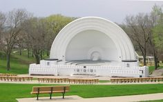 Band Shell at Grandview Park, Sioux City, IA