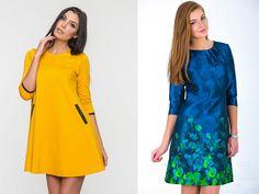 53 лучших модели платья А-силуэта | Мода от Кутюр.Ru