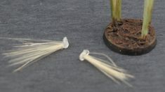 How to make grass tufts