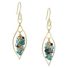 Blue for You Earrings | Fusion Beads Inspiration Gallery | DIY Jewelry