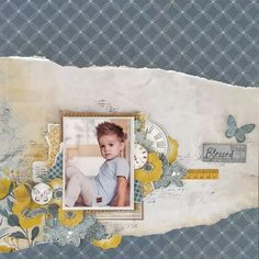 Blessed – Layout by Hetty Hall – KAISERCRAFT WORKSHOP
