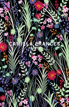 Camilla Frances Prints | London Textile Print Studio | Print Studio in London
