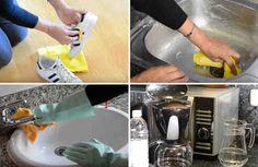 El vinagre es un producto natural que cuenta con infinitas propiedades, entre las que destacan los beneficios para el organismo, así como también su potente poder limpiador. Es por ello que resulta muy práctico en el hogar para usarlo como sustituto para limpiar una gran cantidad de superficies y el