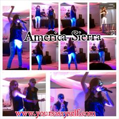 America Sierra Performance During My Fabulous Quince Expo 2013 - by YourSassySelf.com; America Sierra canta durante My Fabulous Quince Expo 2013 - por YourSassySelf.com