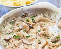 Pork Stroganoff with Buttered Noodles | Sprinkles and Sprouts