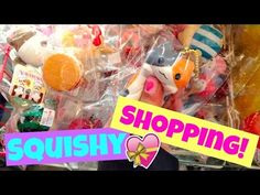 Squishy Haul From China : BIGGEST SQUISHY COLLECTION PT. 3 - YouTube Random Squishie videos Pinterest Chang e 3 ...