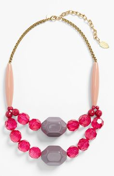 David Aubrey Double-Strand Necklace available at #Nordstrom