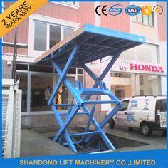 Car Hoists for Home Garage , Residential Hydraulic Car Lifting Equipment  3000kgs
