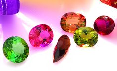 """Tourmaline is our favorite, because it is the most colorful of all gemstones, occuring in all colors of the rainbow and because of it's somewhat confusing identity, which is even reflected in the name, coming from """"toramalli"""", which means """"mixed gems"""" in Sinhalese (a language of Sri Lanka) used by Dutch merchants to describe the multicolored pebbles that miners found in the gem gravels of Ceylon."""
