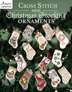Cover your tree with festive mini stockings! This book will help you to enhance your Christmas tree with lovely handmade, cross-stitched stockings! There are 30 beautiful patterns to choose from, from