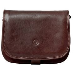 Maxwell Scott Bags - Luxury Italian Leather Women's Saddlebag Purse... (425 CAD) ❤ liked on Polyvore featuring bags, handbags, shoulder bags, cross-body handbag, leather crossbody handbags, brown crossbody purse, leather man bags and leather crossbody purses