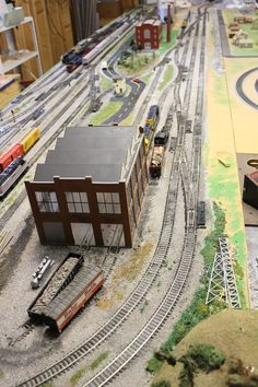 Ho model train layout plans 4x8 Car Tuning hotrains