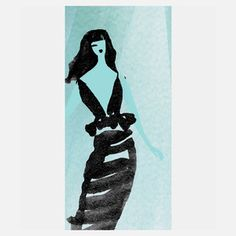 Little Black Dress 1 9x12 now featured on Fab.