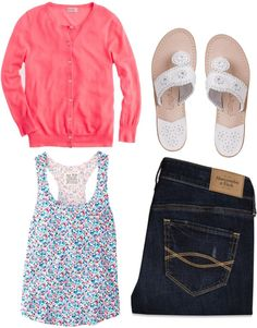 """Spring on my mind"" by southernbelle ❤ liked on Polyvore"