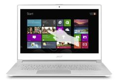 Amazon.com: Acer Aspire S7-392-9890 13.3-Inch Touchscreen Ultrabook (Crystal White): Computers & Accessories