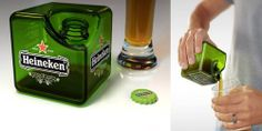 Awesome beer cube.
