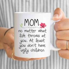 mothers day gift mothers day from daughter mom from daughter mom coffee mug mom mug gifts for mom mom gift mothers day mug by artRuss on Etsy Happy Mothers Day Gifts, Mothers Day Signs, Diy Gifts For Mom, Mothers Day Crafts, Mother Day Gifts, Aunt Gifts, Daughter Birthday, Mom Birthday Gift, Birthday Quotes
