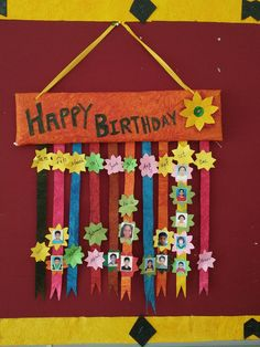 Birthday Chart Classroom Welcome Bulletin Boards Charts
