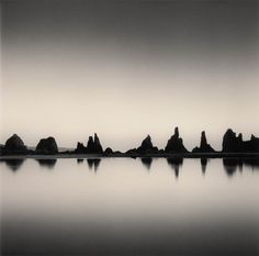 """Silent World by Michael Kenna (Holga or Hasselblad to create """"distilled solitude"""")"""