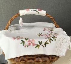 #바구니#프랑스자수 #embroidery #handmade # 다시 만들고나니 또 다른 느낌^^