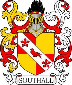 Southall Family Crest and Coat of Arms