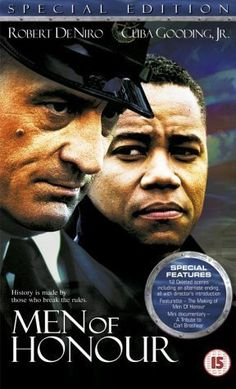 Men of Honour. Robert de Niro y Cuba Gooding Jr.