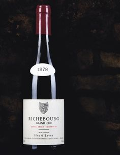 The World's #1 Most Expensive Wine:Henri Jayer Richebourg Grand Cru, Cote de Nuits, France