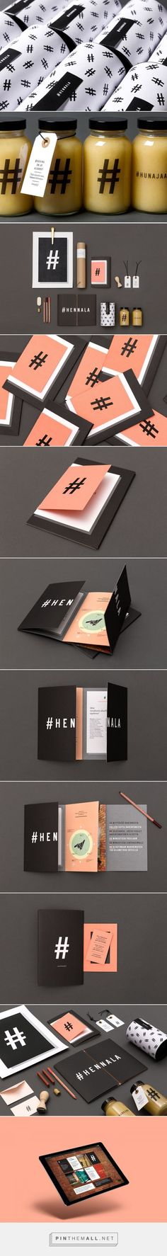 Branding | Graphic Design |  Hennala Visual Identity on Behance