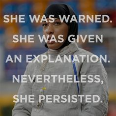Love these #shepersisted social media tributes.