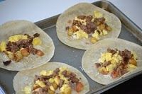 Breakfast Burrito Bonanza – A Freezer Meal Idea - Make ahead freezer meals are not just for dinner anymore!  Get a jump on the school day with these healthy breakfast options.