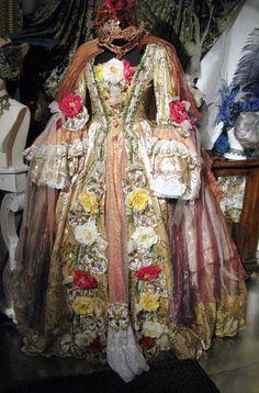 Venetian Carnival Gown