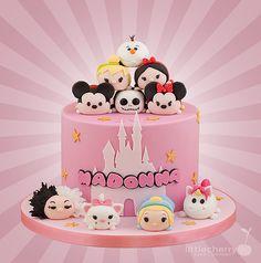 Little Cherry Cake Company - Tsum Tsum Cake