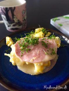 LCHF-morgenmad: Skinketoast med ost og røræg --> madbanditten.dk