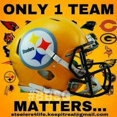 Only 1 teams Matters! | @ PITTSBURGH STEELERS