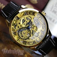 Online shopping for #steampunk watches. This #watch embodies steampunk perfectly. We advise you wind it in public so you can really show this beauty off.