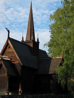 Lillehammer - Maihaugen Folkemuseum. Norway.