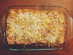 An Enchilada Dinner Party, Part 3: Spicy Slow-cooked Chicken and Cheese Enchiladas
