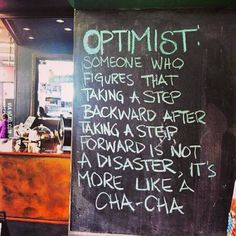 Are you an optimist? Does taking a step back throw you for a tailspin? Be accountable when that happens. Get support. www.recoveryboxapp.com #recovery #addiction #accountability